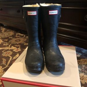 Brand new HUNTER insulated boots.